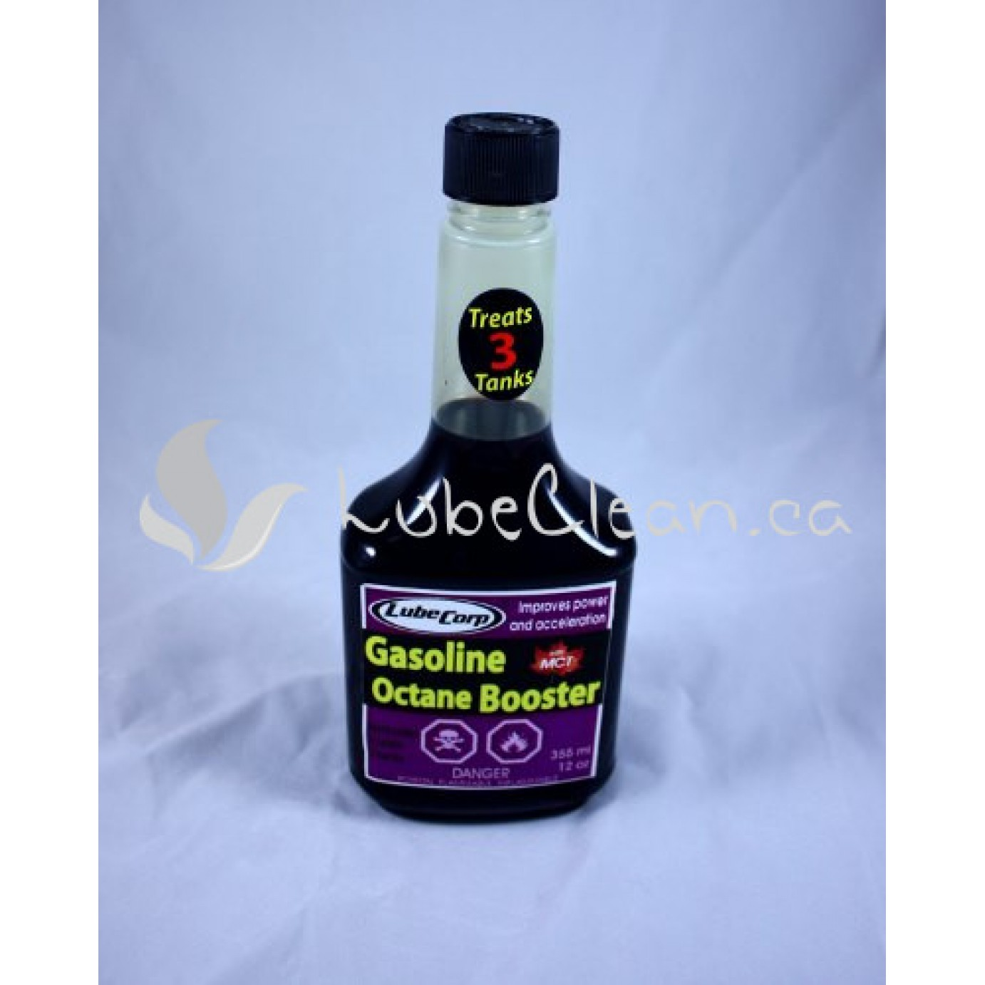 Gasoline Octane Booster 355 ml bottle