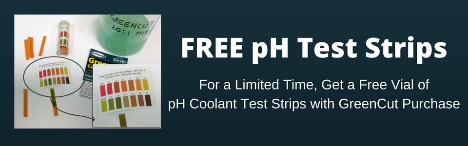 GreenCut pH Strips Promotion