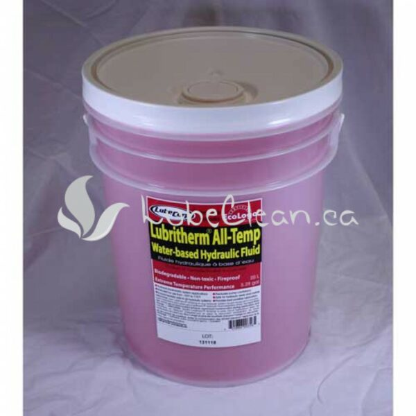 Lubritherm All Temp Hydraulic Fluid 20 L pail