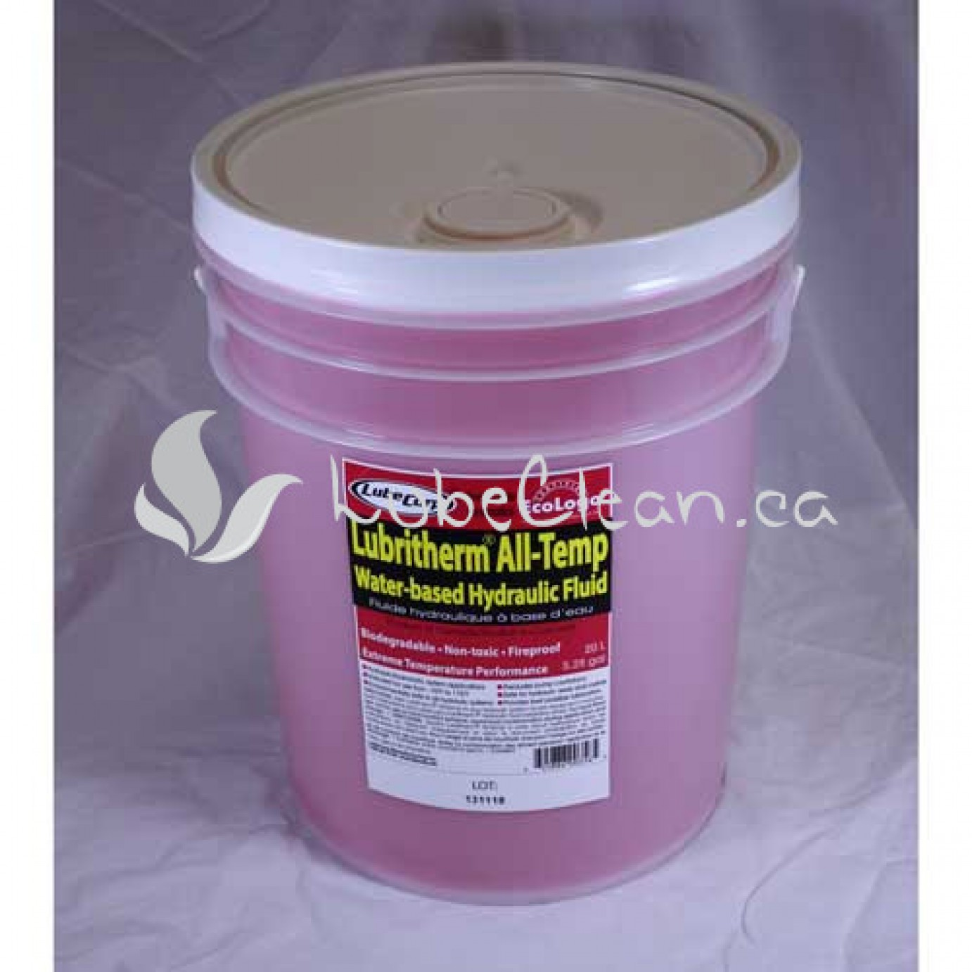 Lubritherm All Temp Hydraulic Fluid 20 L pail