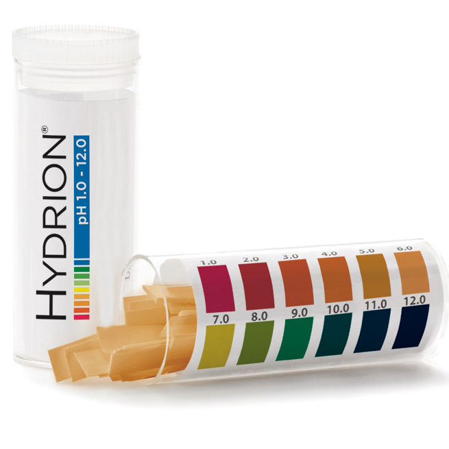 pH Coolant Test Strips